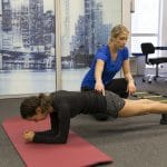natalia, physical therapy, physical therapist, core stability, plank, core, strength, endurance, core strength
